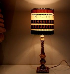 vintage movie lampshade