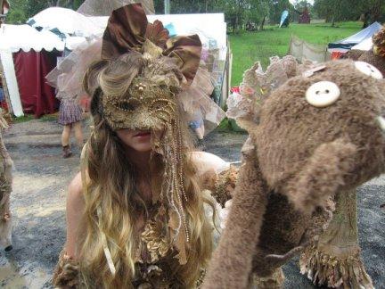 Hannah in Mask